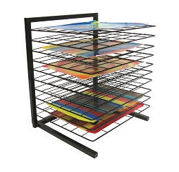 Art Drying Rack Desk Top - 10TDH - Collins Craft and School Supplies