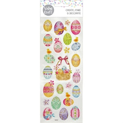 Glitter Easter Stickers 1 sheet -