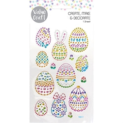 Easter Rhinestone Stickers -