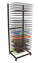 Art Drying Rack Up Right Portable - 23TDH - Collins Craft and School Supplies