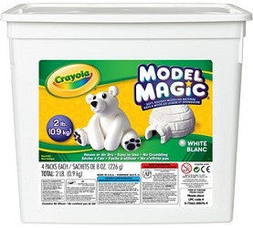 Crayola Model Magic White Tub of 907g - 960057 - Collins Craft and School Supplies