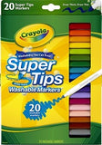 Washable Supertip Markers - Collins Craft and School Supplies