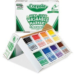 Ultra Clean Washable Markers - Collins Craft and School Supplies