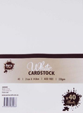 Cardstock A5 Pack of 40 -
