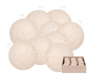 Papier Mache Baubles Packof 9 - BW850 - Collins Craft and School Supplies