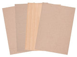 Corrugated Card Natural A4 Pack of 20 - CB130