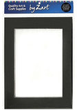 Cardboard Frames Black/White Pack of 10 - Collins Craft and School Supplies