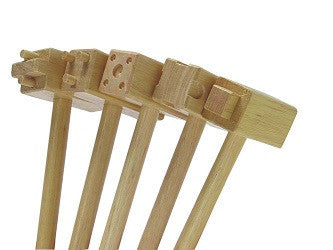 Clay Hammers Pack of 5 - CH5 - Collins Craft and School Supplies