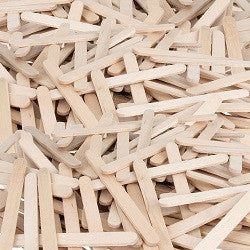 Popsticks Natural Small Pack of 200 - CN518 - Collins Craft and School Supplies