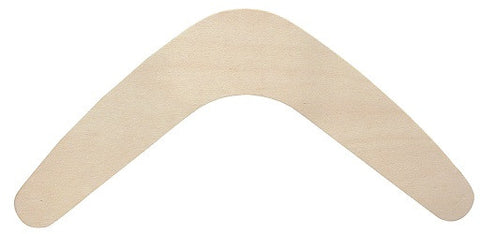 Wooden Boomerangs Pack of 10 - CN520 - Collins Craft and School Supplies