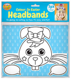 Colour In Easter Headbands Pack of 3 - CR0671
