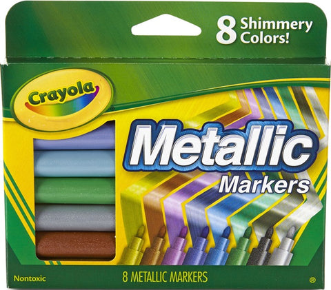 Metallic Markers Pack of 8 - 588628