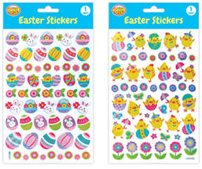 Easter Crystal Stickers Set of 2 - CR0399