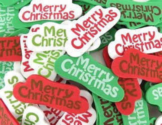 Foam Stickers Merry Christmas Multi Pack of 80 - FSX0295 - Collins Craft and School Supplies