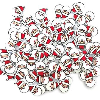 Foam Stickers Santa Pack of 112 - FSX9598