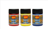 Fabric Paint 50ml - Collins Craft and School Supplies