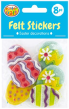 Felt Stickers Pack of 8 - Collins Craft and School Supplies