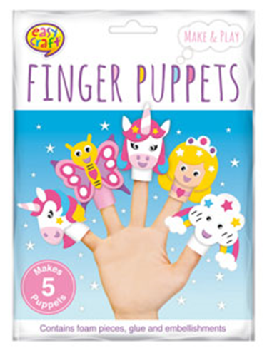 Make Your Own Finger Puppets -