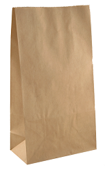 Paper Bags with Gussets Pack of 30 - Collins Craft and School Supplies