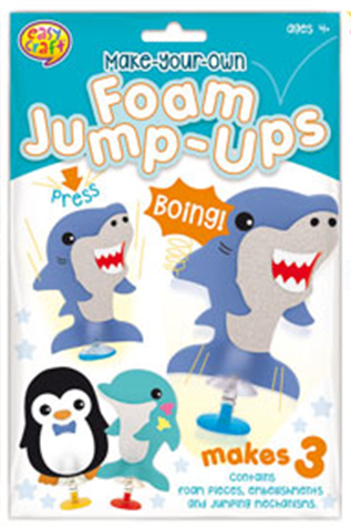 Foam Jump Ups Pack of 3 -
