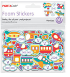 Foam Self Adhesive Stickers Pack of 60 -