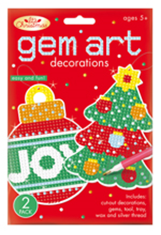 Gem Art Christmas Decoration -