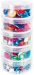 Jewels Stackable Pack of 700 - JW110 - Collins Craft and School Supplies