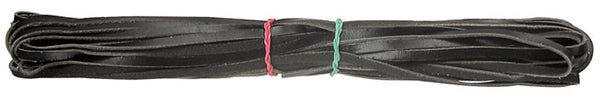 Leather Lacing Black Pack of 10 mtr - LJ301-BK - Collins Craft and School Supplies