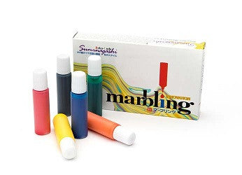 Marbling Ink Set of 6 - 300616