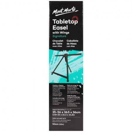 Aluminium Tabletop Easel with wings
