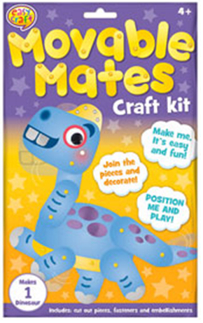 Moveable Mates Craft Kit -