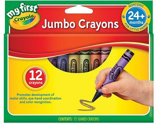 My First Jumbo Crayons - Collins Craft and School Supplies