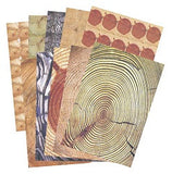 Woodgrain Paper A3 Pack of 40 - NP055 - Collins Craft and School Supplies