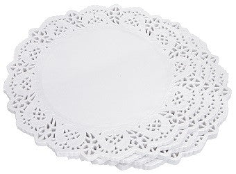 Doilies White Pack of 250 - Collins Craft and School Supplies