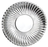 Paper Plates Metallic Pack of 60 - PA042 - Collins Craft and School Supplies