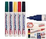 Porcelaine Markers Pack of 5 - Collins Craft and School Supplies
