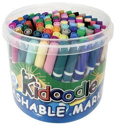 Kidoodle Coloured Markers Pack of 96 - PM810 - Collins Craft and School Supplies