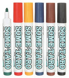 Fabric Markers Pack of 6 - Collins Craft and School Supplies