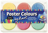 Poster Colour Paint Tray of 6 - Collins Craft and School Supplies