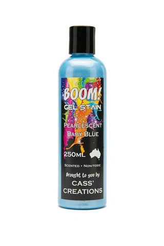 Boom Gel Stain 250ml Pearlescent - Collins Craft and School Supplies