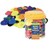 Giant Buttons Pack of 500g - SM150 - Collins Craft and School Supplies