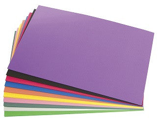 Fun Foam Craft Sheets Pack of 20 - SP004 - Collins Craft and School Supplies