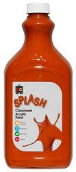 Splash Classroom Acrylic Paint 2Lt - Collins Craft and School Supplies