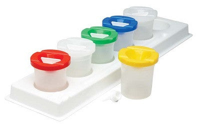 Safety Paint Pot & Stand Set - SPPSS - Collins Craft and School Supplies
