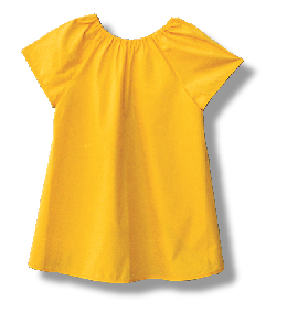 Art Smock Short Sleeve - Collins Craft and School Supplies