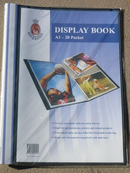 Display Book A3 - 54110 - Collins Craft and School Supplies