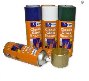 Spray Paint Classic Gloss Enamel 250g Can - Collins Craft and School Supplies