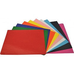 Tissue Paper Assorted Colours Pack of 60 - 202748 - Collins Craft and School Supplies