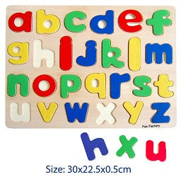 Puzzles - Letters & Numbers Lower Case Alphabet - W068-ORT33685 - Collins Craft and School Supplies