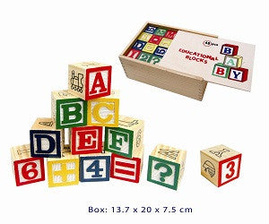 Learn & Play - Education Learning Blocks - W342-6854 - Collins Craft and School Supplies